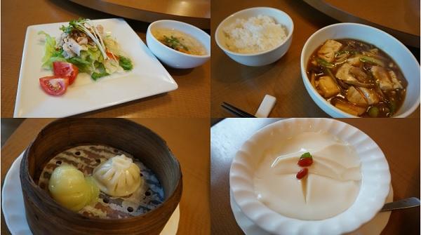 Bランチ  きのこと豆腐のオイスターソース煮込み